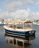 Romantic Pontoon Boat Fort Lauderdale