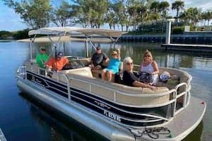 Pontoon Boat Hallandale Beach