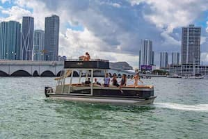 Boat in Miami for July 4th