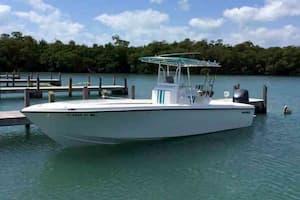 Center Cosole Fishing Boat Miami Beach