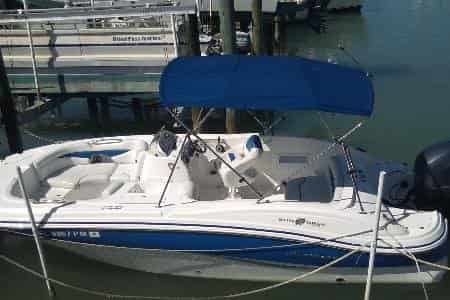 Small Motorboat Tampa