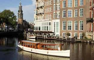Canal Vessel Amsterdam