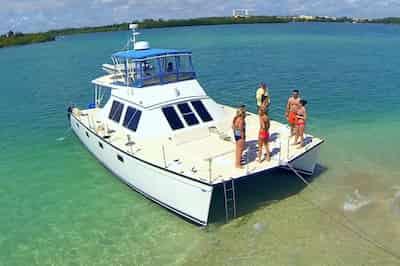 Catamaran in Hallandale Beach for July 4th
