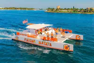 Catamaran in Florida for July 4th Celebratrions