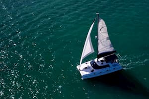 Catamaran in Florida for Independence Day