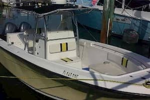 Center Console Fishing Boat in Key Largo