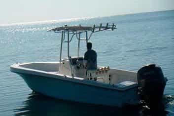 Center Console Boat in Key Largo