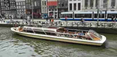 Custom Cruise Boat Amsterdam