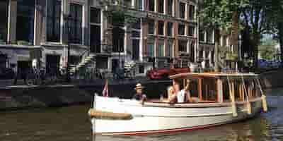 Electric Powered Boat Amsterdam