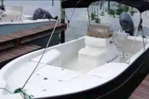 small motorboat Islamorada