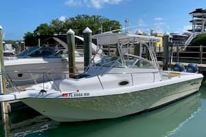 Small Fishing Boat Miami Beach