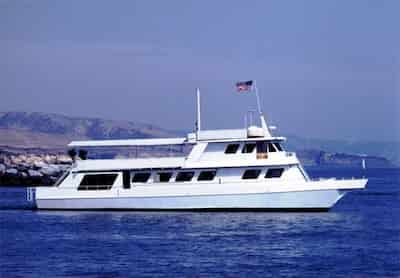 Large Boat in Newport Beach