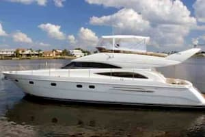 Yacht in West Palm Beach for July 4th Celebratrions
