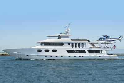 Large Yacht in California