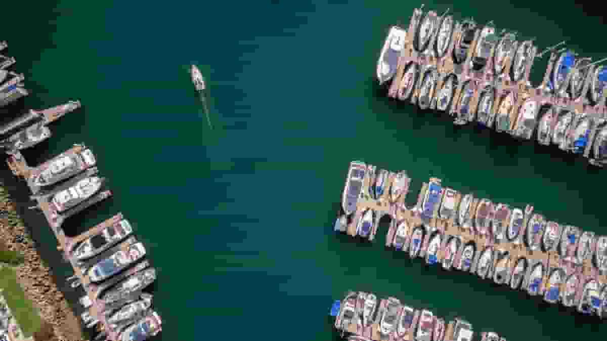 Yacht in Long Beach
