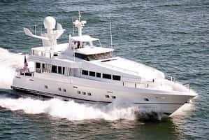 Large Mega Yacht West Palm Beach
