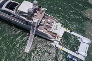 Mega Yacht for Parties Miami Beach
