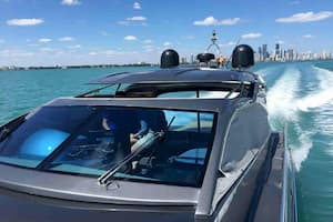 Luxury Yacht in Miami Beach