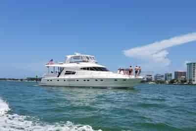 Luxury Motor Yacht in California