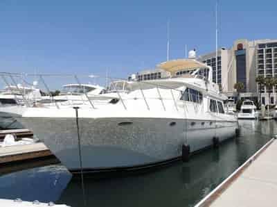 Mega Yacht in California