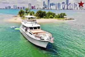 Vessel in Miami for July 4th