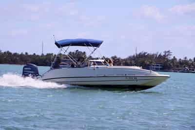 Motor Boat Key Largo