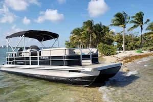 Motor Pontoon Boat Hallandale Beach