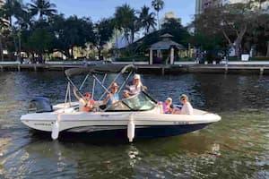 Romantic Motorboat Fort Lauderdale