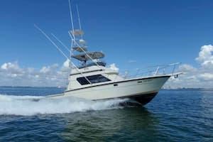 fishing boat hire in Miami