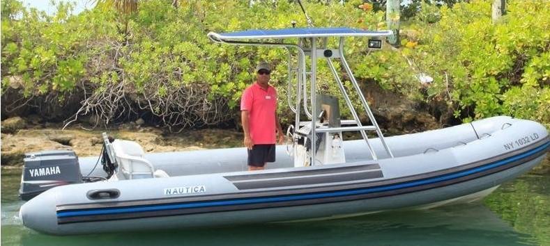 Motorboat Bahamas