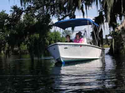 Motorboat Jupiter