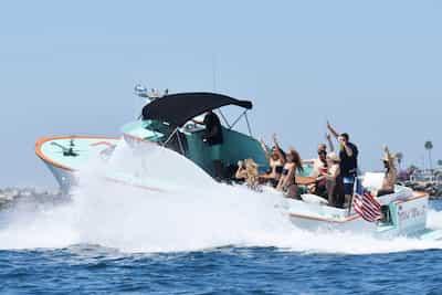 Motorboat Newport Beach