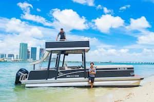pontoon boat rental Miami