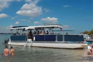 pontoon hire Miami