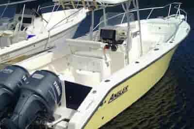 Motorboat for fishing Key Largo