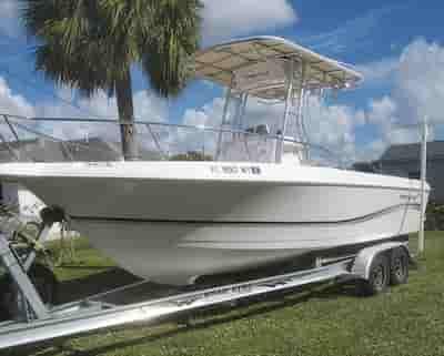Pro Line Fishing Boat West Palm Beach 1