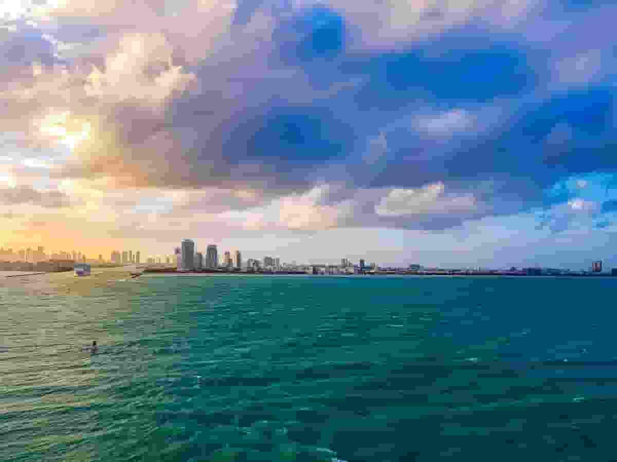 Romantic Boats in Miami Beach