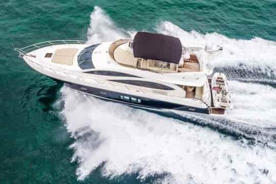 Romantic Yacht with Cabins Hallandale Beach