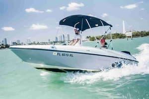 Romantic Motor Boat Florida
