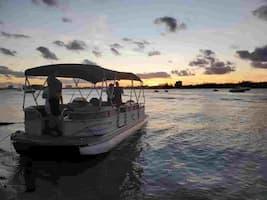 Romantic Pontoon Boat Ride in Hallandale Beach
