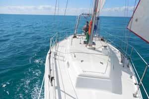Sailboat for romantic date Florida