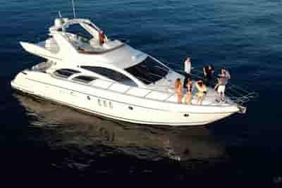 romantic yacht ride California