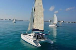 Sailboat Cancun