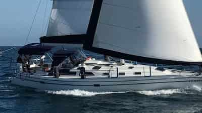 Sailboat for romantic date California