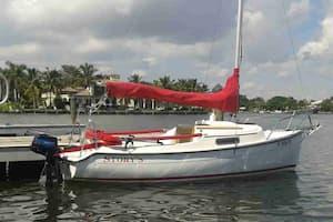 Sailboat Miami Beach
