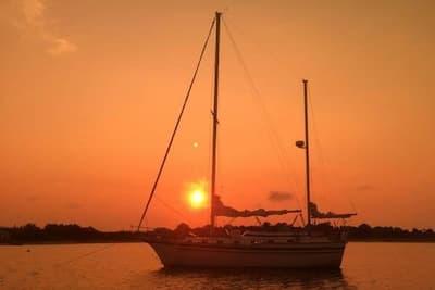 Sailing Boat Key Largo