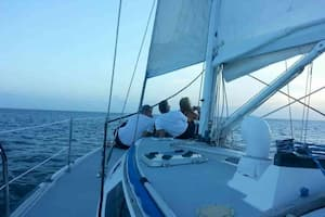 Sailboat for couples date Florida