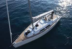 Sailing boat Saint Tropez