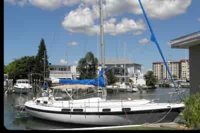 Sailing Boat Tarpon Springs
