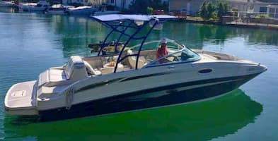 Sea Ray Fishing Boat Fort Lauderdale 1
